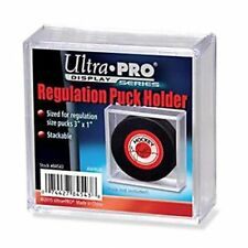 ULTRA PRO REGULATION HOCKEY PUCK SQUARE ACRYLIC HOLDER sports collectible cases