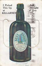 IRELAND,  KILLARNEY, MAIL NOVELTY CARD 12 MINI PICTURES