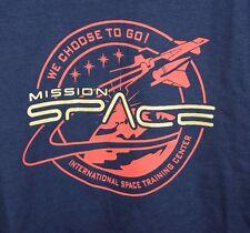 NWT Disney Epcot Mission Space International Training Center Navy Blue XL Mens