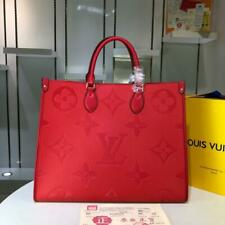 Louis Vuitton Red Shoulder Handbag For Women Limited Edition