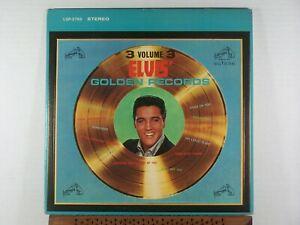 Elvis Presley Golden Records Vol.3 1963 RCA LSP 2765 all label print silver NM