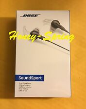 Bose SoundSport in-ear headphones - Android devices - Charcoal - New in Box!