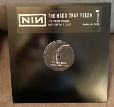 """Nine Inch Nails Hand That Feeds 12"""" LP Interscope Records Halo Promo MINT"""