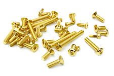 C27017GOLD Integy Assorted Hardware Screw Kit Set for Axial 1/10 SCX-10 Crawler