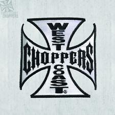 West Coast Choppers RICAMATO SERBATOIO patch ferro croce 10cm! 100% ORIGINALE!