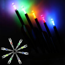 6pcs Led Lighted Nocks for Id5.3mm Arrow Bowstring activited Arrow Nocks 5Color