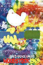 Woodstock Tye Dye Poster Print, 24x36
