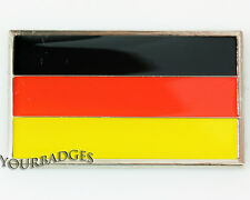 Enamel Chrome German FLAG Car Badge Germany Deutschland VW Audi
