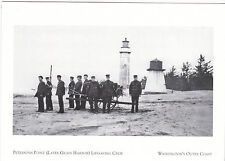 "*Postcard-""Peterson's Point Lifesaving Crew"" ..@ Washington's Outer Coast (#21)"
