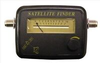 Satellite Dish Signal Alignment Meter Sky Sat finder camping caravan patch lead