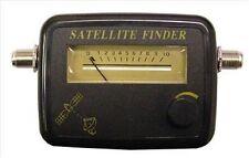 Satellite Dish Signal Alignment Meter Sky Sat finder camping caravan patch lead