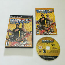 American Chopper (Sony PlayStation 2, 2004) Complete Tested