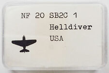 Neptun Fb 20 Us Sb2C-1 Helldiver 1/1250 Scale Model