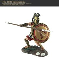 1:32 Conte Collectibles Painted Bronze Age Spartan Greek Hoplite Figure SP-0014