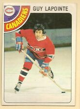 1978 - 79 Topps Hockey Set GUY LAPOINTE Card