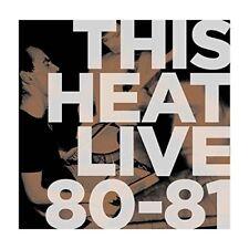 THIS HEAT - LIVE 80-81   VINYL LP NEU