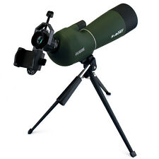 20-60x60mm Angled Telescopes Spotting Scope Bak4 for Bird Watching+Phone Adapter
