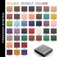 INGLOT Freedom System Eye Shadow DS Double Sparkle square refill 2.5g All colors