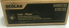 Case of 2 Bags ECOLAB LASER PHAZER FLOOR FINISH 2 Gallons Each 64895733
