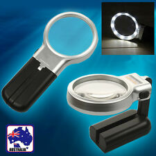LED Light Foldable 3X Jewelry Loupe Magnifier Magnifying Reading Glass EMAGN7006