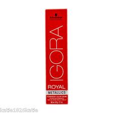 Schwarzkopf Igora Royal Metallics 9-18 Permanent Hair Color 60ml Professional