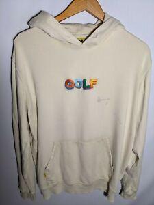 Golf Wang Tyler The Creator Cream Embroidered Hoodie Size Medium