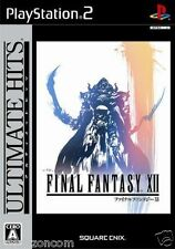 Used PS2 Final Fantasy XII SONY PLAYSTATION JAPAN IMPORT