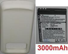 Hülle weiß + Batterie 3000mAh art BL-4F BP-4L Für Nokia N97