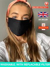 Reusable Antibacterial Face Mask with Silverprotect Filter