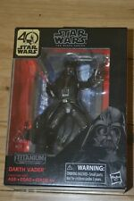 Star Wars Black Series Titanium Series Darth Vader, 3.75-inch 40Th. Anniversary