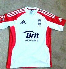 England Cricket Adidas Training T-Shirt Mens - Medium