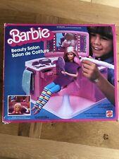 Vintage 1983 Barbie Beauty Salon with box & Instructions - Complete!