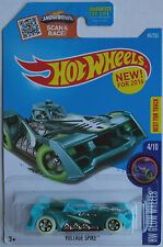 HOT Wheels-Voltage Spike Verde/Turchese Nuovo/Scatola Originale US-CARD