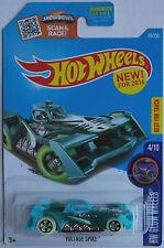 Hot Wheels - Voltage Spike grün/türkis Neu/OVP US-Card
