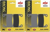 BMW S 1000 RR 2019 - 2020 SBS Front Dual Carbon Brake Pads Set OE Quality 960DC