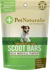 PET NATURALS OF VERMONT DOG SCOOT BARS 30 COUNT    Free Shipping