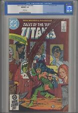 Tales of the Teen Titans #52  CGC 9.8 1985  First Azrael appearance: Cheesire!