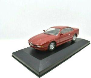 MODELLINO AUTO BMW 850I SCALA 1/43 DIECAST ASTA COLLEZIONE EDICOLA USATI EPOCA