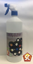 Vinyl Record Cleaning Fluid Anti-static Cleaner 1L Bottle (Microfibre Cloth)
