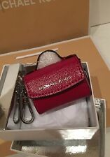 MICHAEL KORS NS Cherry Red Key Charm Key Chain FREE SHIPPING