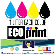 Dye Sublimation Ink - Multicompatible 4 Multi-Color 1 Lt bottles