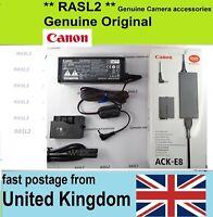 Genuine Canon DR-E8 ACK-E8 Adapter Kit for EOS 550D 600D 650D 700D Rebel T5i T4i