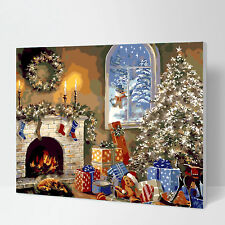 Paint by Number Kit for Adult  Canvas Wooden Framed-W207 Christmas Gift