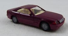 Mercedes 500 SL pink Wiking 1:87 H0 ohne OVP [GO8]