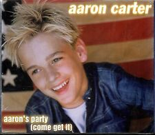 Aaron Carter - Aaron`s Party (Come Get It) +VCD [2CD] Audio CD Sealed