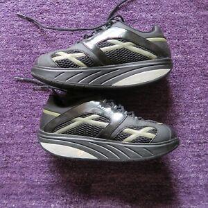 mbt schuhe, Größe 41, Form Sneaker, Farbe Schwarz, kaum getragen