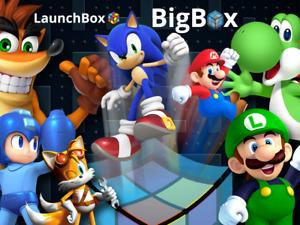 1TB Launchbox Retroarch Emulator Plug and Play Digital Server Access for Retro