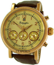 Eichmüller XXL Automatik Herrenuhr Edelstahl Farbe gold automatic mens watch Ø45