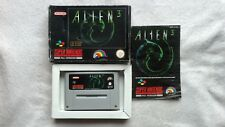 ALIEN 3 SUPER NINTENDO SNES RARE BOXED AND COMPLETE WITH MANUAL GC RETRO
