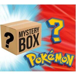 POKEMON MYSTERY BOX-Vivid Voltage, Sealed Booster Packs, Vintage Cards,Full-arts